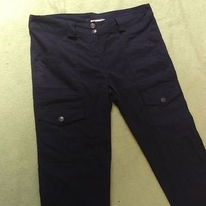 Anatomie Navy Kate Cargo Pants
